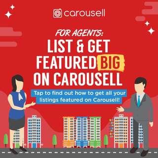 List & Get Featured on Carousell