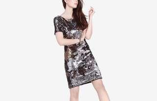 BNWT two-tone sequined dress (5/M)
