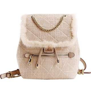 Furry Lining Backpack