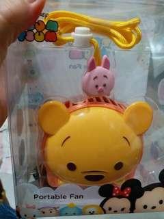Tsum tsum winne the pooh fan 小熊維尼風扇