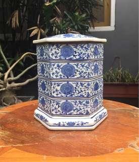 Rantang keramik antik vintage 1900