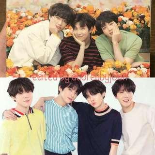 [LF/WTB] BTS Official Love Yourself tour in Japan Mini photocard UNIT