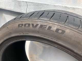 Rovelo 225 45 18 tire tyre tayar