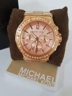 Michael Kors Rose Gold Tone watch with date