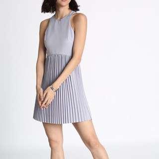 🚚 [LB] Rasine Pleated Dress In Lilac
