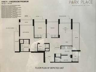3bedrooms Park Place Residences