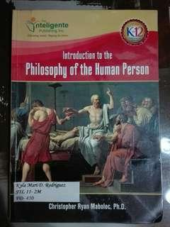 Philosophy of the Human Person