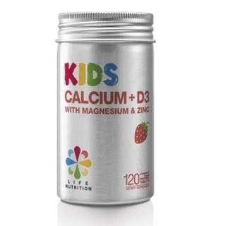🈹LIFE NUTRITION  兒童鈣多多 (120粒)