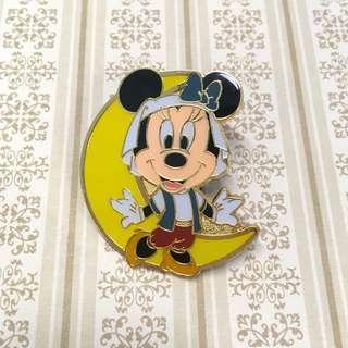 東京迪士尼襟章 月亮米妮 (DisneySea Minnie Game pin/Pin collection)