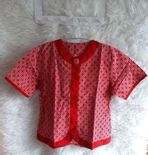 Batik red