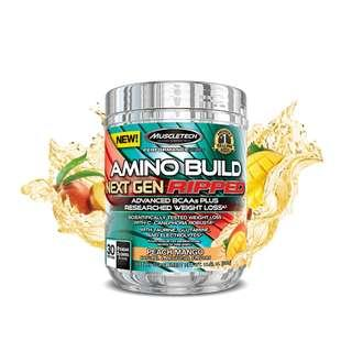🚚 Muscletech AMINO BUILD NEXT GEN RIPPED 30 servings
