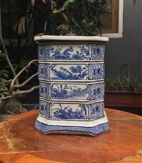 Rantang keramik vintage 1900 size besar