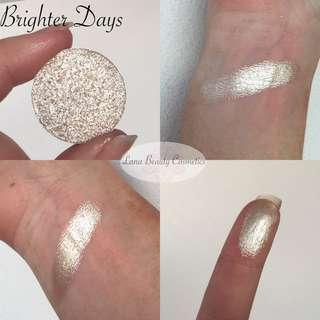 Foiled eyeshadow