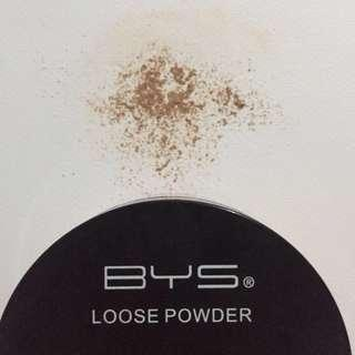Authentic BYS loose powder in Medium Shade