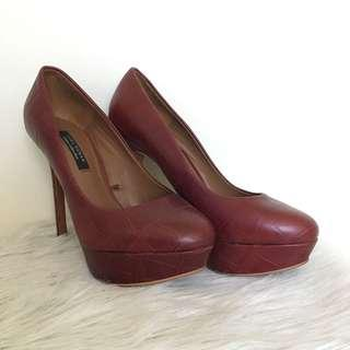 Zara Cruise Collection Red Pumps