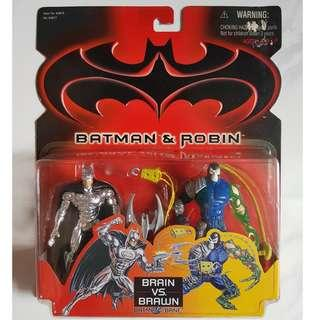 Batman Silver & Bane Twin Pack