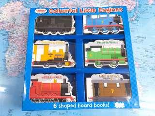 NEW~ Thomas and Friends colorful little engines ( 6 shaped board book )