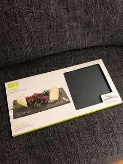 New slate cheese board