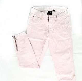 ARMANI XCHANGE (authentic) blush pink jeans