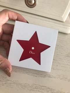 Dior sticky note book with mirror