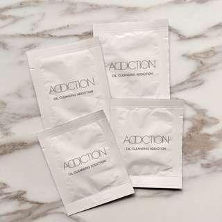 [包郵] Addiction oil cleansing 落妝油 3 ml x 4 packs