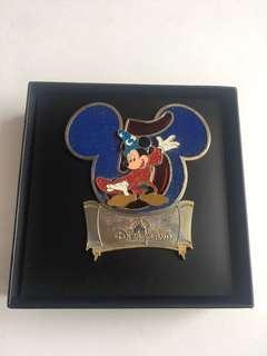 罕見✨特大迪士尼徽章🏰Disney Pin✨魔術師米奇