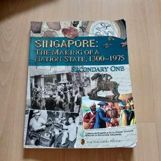 Sec 1 and 2 History Textbook
