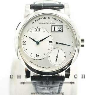 Pre-Owned A.Lange & Sohne Lange 1 White Gold 38.5mm 101.027X  (Limited Production of Approx 600 Units Only)