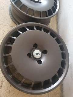 Velg rare drag valkyrie by fortron ring 17x7 4x114 jepang
