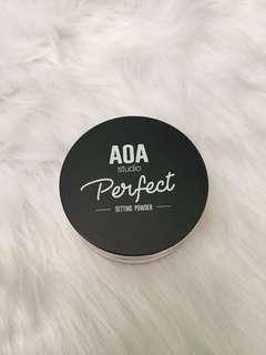 💯Authentic AOA studio Perfect Setting Powder in BANANA