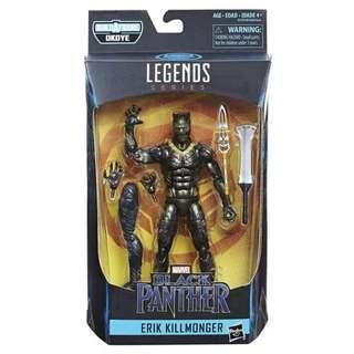 MISB Marvel Black Panther Legends Series Erik Killmonger (Okoye BAF Avengers Infinity War Select)