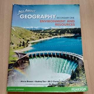 Sec 1 Geography Textbook (all about geography)