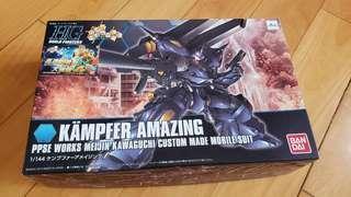 高達模型 HG Kampfer Amazing  全新未砌