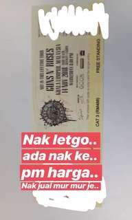 [URGENT] Gun n Roses Not in This Lifetime Tour KL