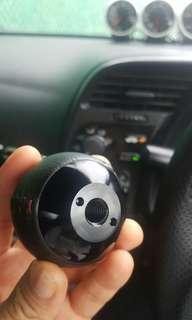 mugen 6 speed leather gearknob