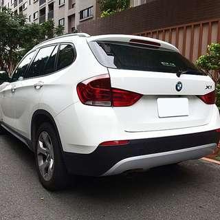 2012年BMW X1 2.0 白色跑7萬