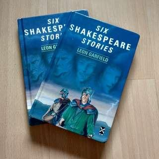 six Shakespeare stories by leon Garfield