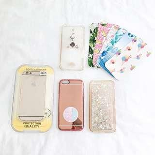 100k for ALL : Iphone 6/6S CASINGS
