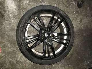 BMW 5 series 19inches rim
