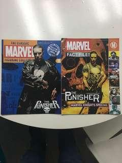 Punisher Set Of 2 Magazines that does not come either the Punisher Figures