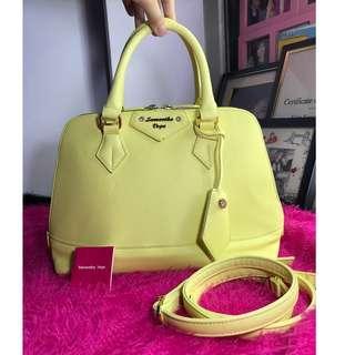 Samantha Vega Bag (Yellow)