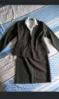 Suit set dark grey brand new