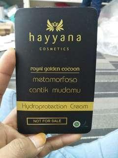 Hydroprotection cream hayyana sampel