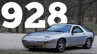 Porsche 928 headlight