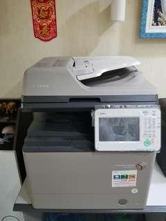 canon ir adv 500i laser printer 3 year old but really new 95% less than 10k copy done