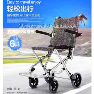 Travel Light weight wheelchair Easy Transportation Super Light weight