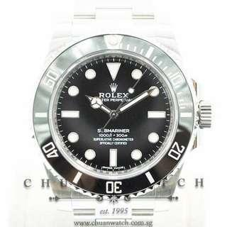 Pre-Owned Rolex Submariner No-Date 114060