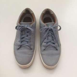 LACOSTE Tamora Lace Up Blue Sneakers