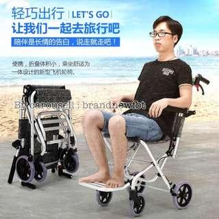 Travel Wheelchair Light Weight Easy Transportation Super Light weight