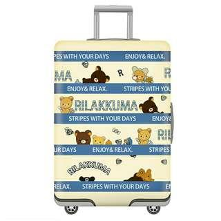 *FREE DELIVERY to WM only / Ready stock* Designed Rilakkuma luggage cover each RM40 S, RM46 M, RM56 L, RM65 XL as shown designs/color from RM40.  Free delivery is applied for this item.